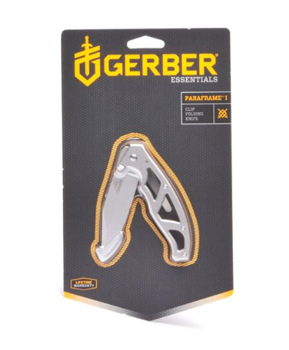 Gerber 22-48444 Paraframe I Knife, Fine Edge
