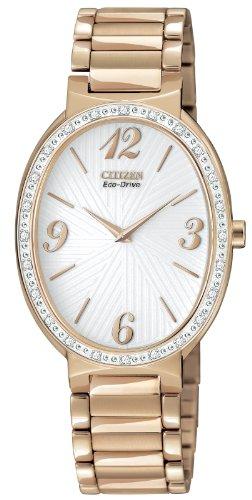 Citizen Women's EX1223-51A Eco-Drive Allura Diamond Accented Watch