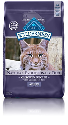 BLUE Buffalo Wilderness Chicken Recipe For Adult Cats (Dry)