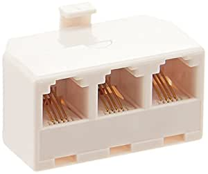 Belkin Triplex Phone Adapter (3 Jacks)