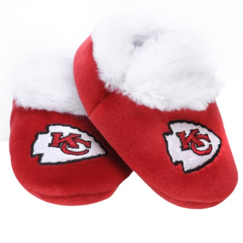 NFL Kansas City Chiefs Baby Bootie Slippers by Columbus Sports
