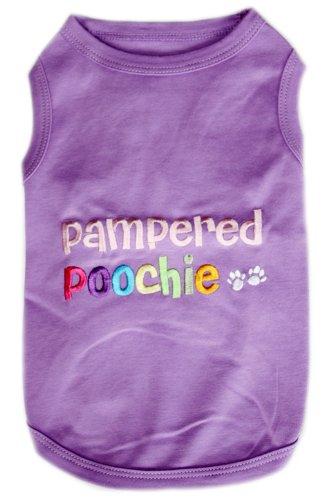 PAMPERED POOCHIE Dog T-Shirt - XXS