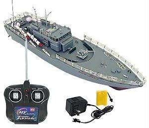 RC Missile Warship Radio Remote Control HT-2877 RTR Ship Battleship Cruiser
