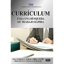 Curriculum para una Busqueda de Trabajo Rapida