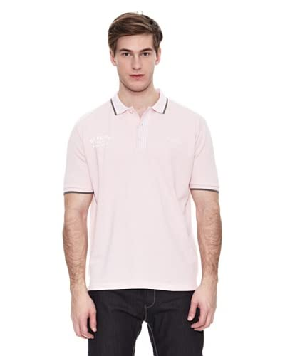 Springfield Polo N1 K1 Pique Striped [Rosa Chiaro]