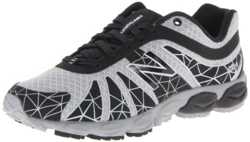 New Balance Kj890 Pre Lace-Up Running Shoe (Little Kid),Black/Silver,13.5 M Us Little Kid