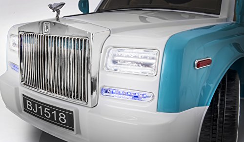 Luxury Super Car Rolls Royce Phantom Style 12v Remote Controled Ride on Electric Toy Car for Kids, Music, Lights, MP3 (Rolls Royce For Kids compare prices)