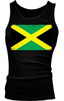 Jamaican Flag Girls / Juniors Tank Top T-shirt