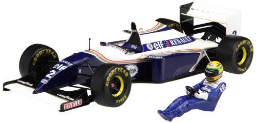 1/20 グランプリシリーズ SPOT-No.22ウィリアムズFW16ブラジルGP ( ドライバーフィギュア付き)