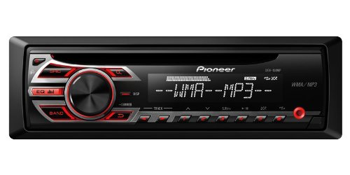 Pioneer DEH-150MP Single DIN Car Stereo With