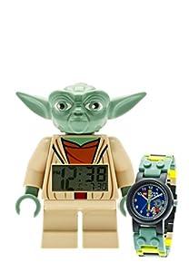 LEGO® Star Wars Yoda clock and watch bundle