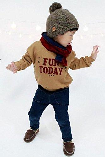 0c8a46dc48bd8 ...   UN ANANAS   トレーナー スウェット 秋 冬 カジュアル 色味 裏起毛 あったか 子ども 赤ちゃん ...