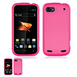 ZTE Warp Sequent N861 Pink TPU Crystal Skin Case