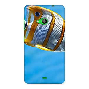 Fish Multicolor Back Case Cover for Lumia 535