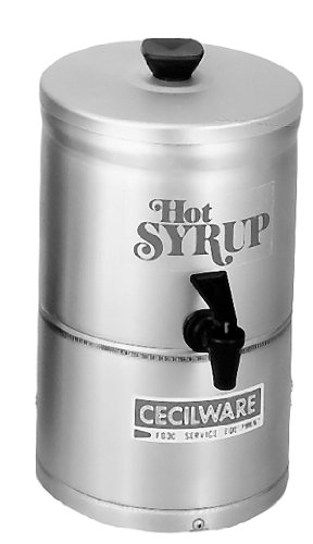 Grindmaster-Cecilware SD1 1-Gallon Syrup Warmers, 7.5-Inch Diameter by 13-Inch Height