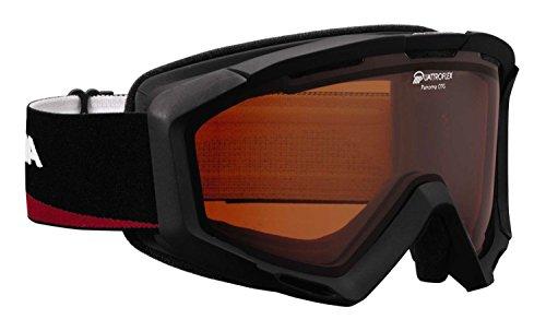 Alpina-panoma-porteurs-de-lunettes-Lunettes-de-ski-couleur-032-NoirRouge-Disque-Quattro-Flex
