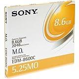 Sony EDM-8600C Rewritable Magneto Optical Disc 14x 8.6GB 5.25in 2048b/s EDM8600CWW