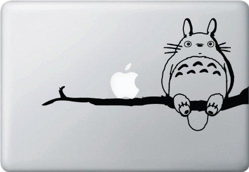 となりのトトロ ジブリ Apple アート ステッカー Mac カー ウィンドウ シール ノートPC ノートパソコン 【並行輸入品】