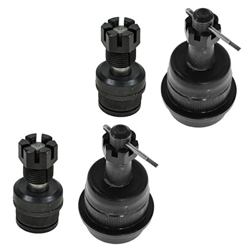 Prime Choice Auto Parts CK500-501 Set of 2 Upper and 2 Lower Ball Joints (Auto Parts For 98 Jeep Cherokee compare prices)