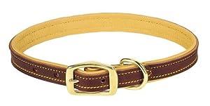Weaver Leather Deer Ridge Collar, 1 x 21-Inch, Brown