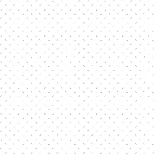 Imperial Disney Home DF059711 Ditsy Dot Wallpaper, White, 20.5-Inch Wide