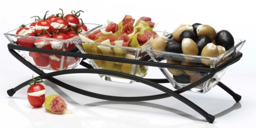 Luigi Bormioli 4-Piece Bowl Set (Appetizer Tray compare prices)