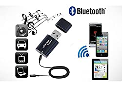 Everything Imported PT-810 Phiateam Bluetooth 3.5mm Audio Music Receiver Adapter A2DP For Phone Tablets Computer