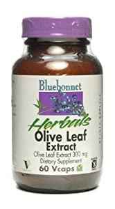 Olive Leaf 300mg Bluebonnet 60 VCaps