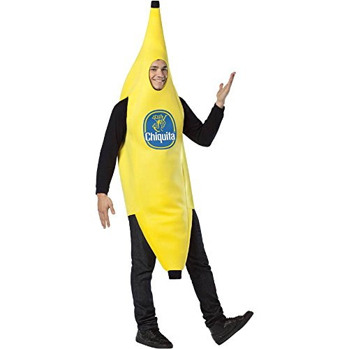 Chiquita Banana Adult Costume - One Size