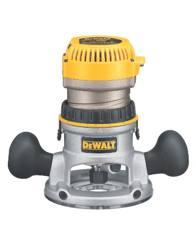 Big Save! DEWALT DW618 2-1/4 HP Electronic Variable-Speed Fixed-Base Router