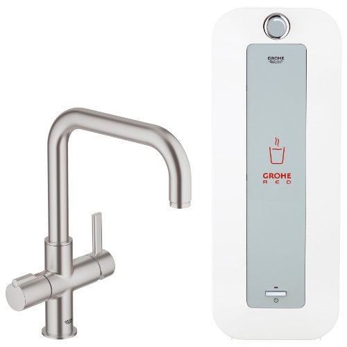 Grohe Red Duo 30156DC0 Sink Tap and Water Boiler 8 L Steel