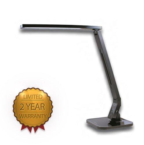 Softech- Natural Light LED Multi-function Desk Lamp Black