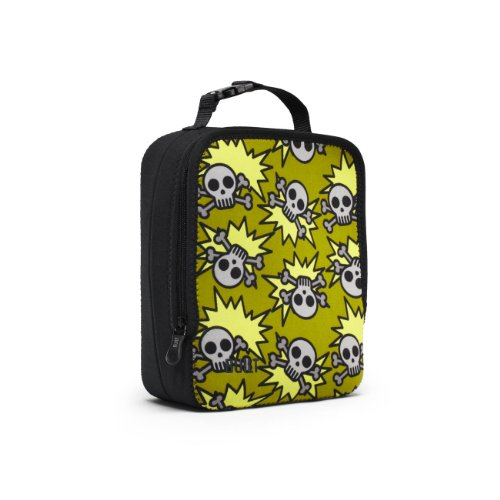 BUILT NY Neoprene Lunch Box, Skeleton Army Olive