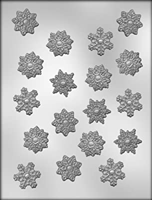 CK Products 1-1/4-Inch Snowflake Chocolate Mold