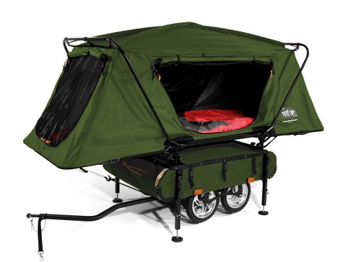 MTC101 K&-Rite Midget Bushtrekka Bicycle C&er Oversize Tent Cot Trailer  sc 1 st  Competitive Edge Products - Competitive Edge Products Inc & Kamp-Rite Bushtrekka Bicycle Camper Tent Cot Trailer-Competitive Edge