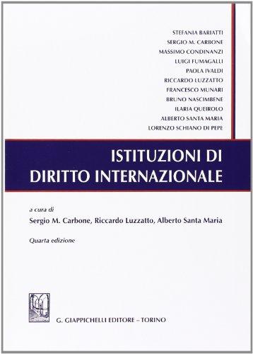 Istituzioni di diritto internazionale PDF