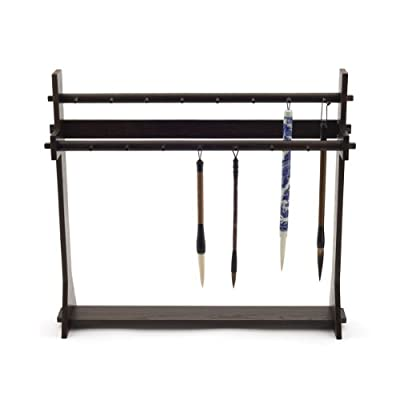 Chinese Ink Paintbrush Rack