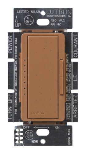 Lutron Msc-600M-Tc Maestro 600-Watt Multi-Location Dimmer Terracotta