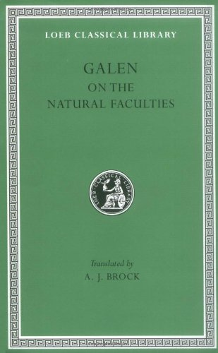 Galen: On the Natural Faculties (Loeb Classical Library)