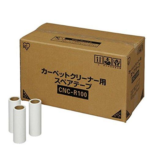 アイリスオーヤマ カーペットクリーナー スペアテープ 斜めカット 100P 各社共通 CNC-R100