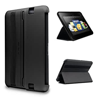 "Marware MicroShell Folio Lightweight Standing Case for Kindle Fire HD 7"", Black (will only fit Kindle Fire HD 7"" [Previous Generation])"