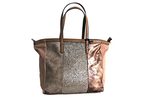 Borsa donna Lookat shopping a spalla y389 taupe