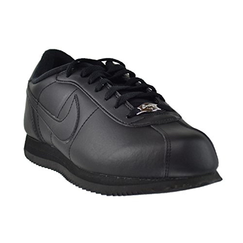 big sale b560c 65016 ... Nike Cortez Basic Leather  06 Men s Shoes Black Black-Metallic Silver  316418- ...