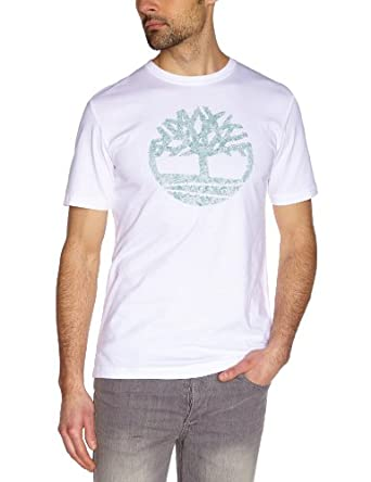 Timberland - T-Shirt - Homme - Blanc (White) - S