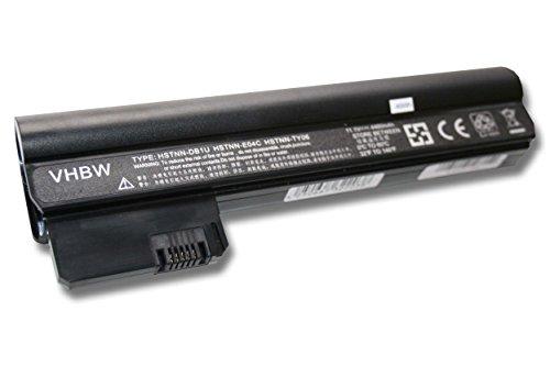 vhbw Li-Ion Batterie 4400mAh (11.1V) pour ordinateur portable, Notebook HP Compaq Mini 110-3525DX, 110-3525la, 110-3525TU, 110-3526la comme 614564-421