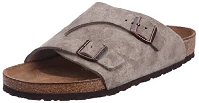 Birkenstock Women's Zurich Wool/Leather Sandal,Taupe,41 EU/10 N US