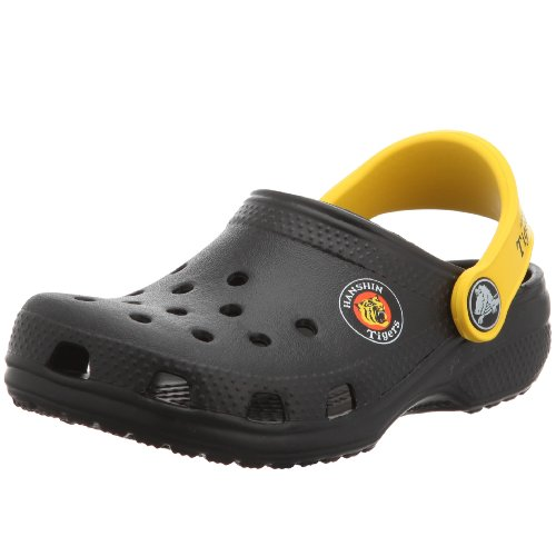 [クロックス] crocs Kids Cayman Hanshin Tigers 83281-064-110 black/yellow (ブラック/イエロー/6/7)