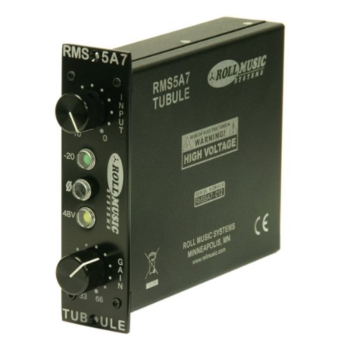 Roll Music RMS5A7 Tube 500 Series Microphone Preamp coupon codes 2015