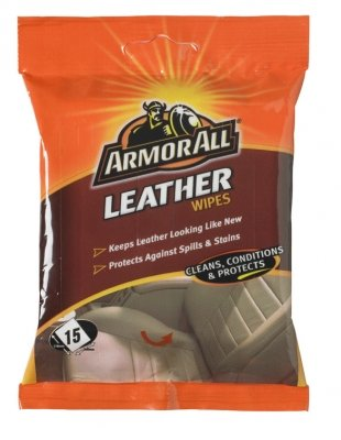 Armorall Leather Cleaning , Conditioning And Protection Wipes 15 pack
