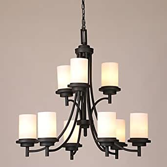 US Pendant Lights Rustic Lodge Vintage Country Living Room Bedroom Dining Roo